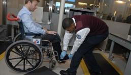 TSA wheelchair inspection