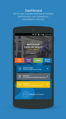 shepherd center mobile app