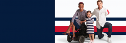 Models wearing Tommy Hilfiger Adaptive Clothing