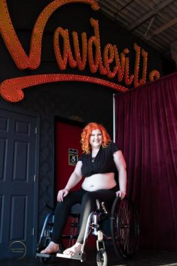 women in wheelchair who is winner of contest
