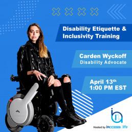 Disability Etiquette & Inclusivity Training